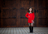 Young-Girl-in-Red-Holiday-Portrait