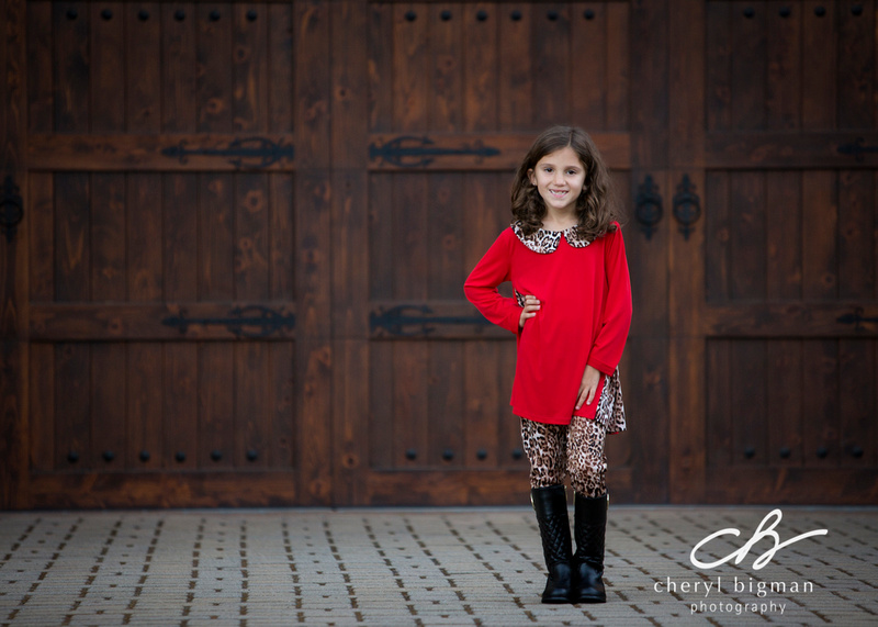 Little-Girl-in-Red-and-Leopard-Print