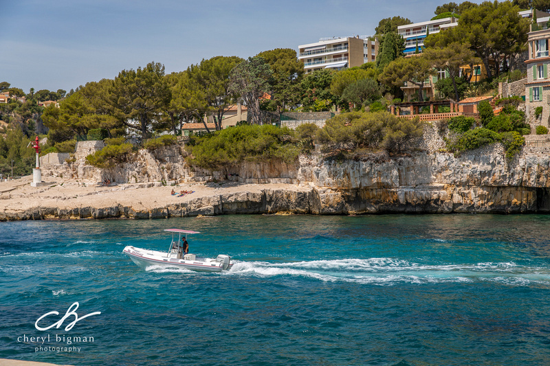 Boating on the Cote d Azur Cassis France