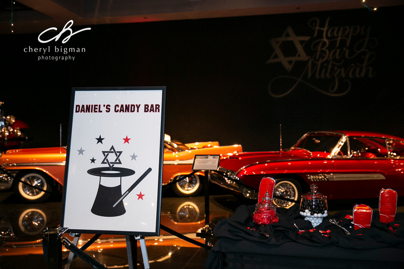 Candy Bar Decor - Magic Themed Bar Mitzvah