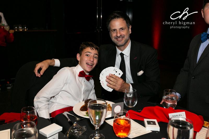 Magician and Bar Mitzvah Boy