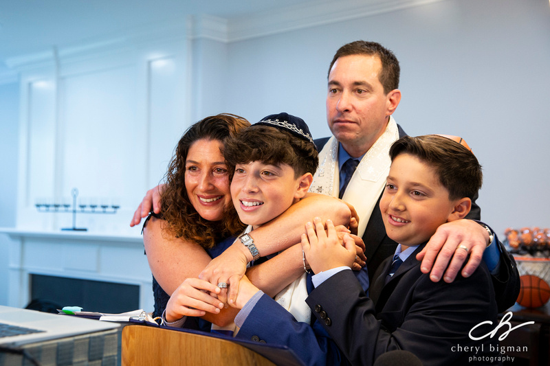 Zoom-Bar-Mitzvah-Family-Moment